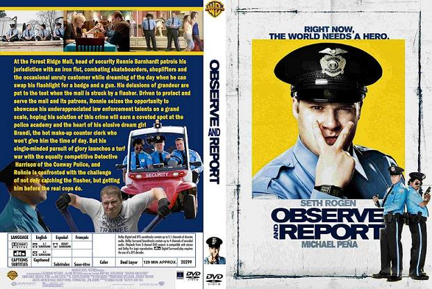 Observe and Report BGsub PAL DVDR  com preview 0